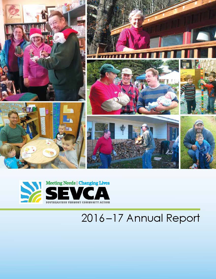 SEVCA Annual Report 2016 17 cover